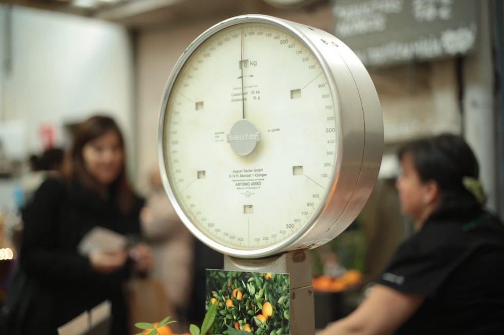 体重を管理する