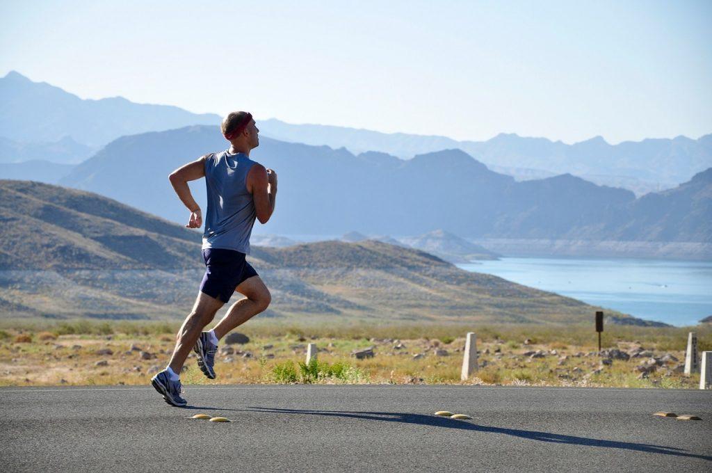 運動をしてストレスを発散する
